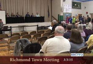 Richmond  Town Meetg