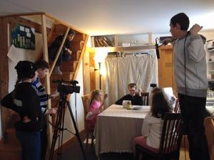 Coop Filming